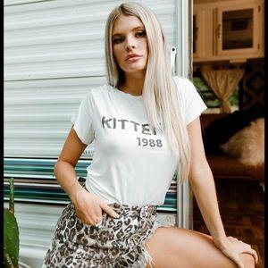 Kittenish 1988 basic Tee